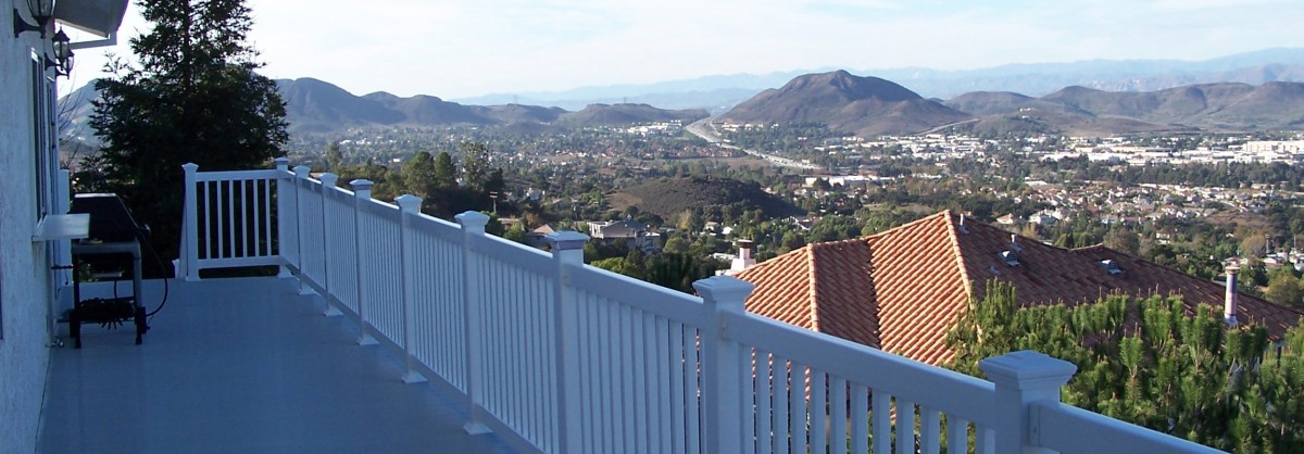 Vinyl Rail: Pain-free Deck Railing