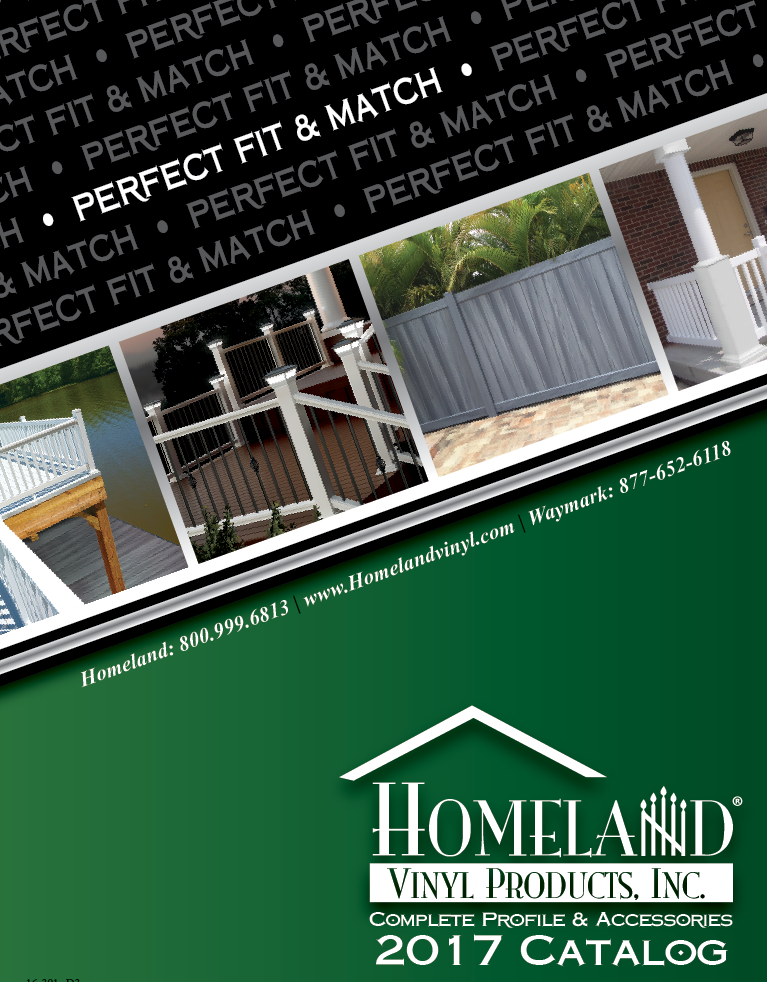 Homeland Vinyl Products cover image