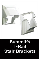 T-RailStairBracket
